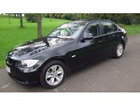 BMW 3 Series 2.0 318i ES 4dr in black, EXCELLENT ORDER THROUGHOUT, 2006 (56 reg), Saloon