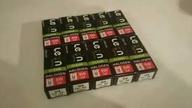 10x g4 bulbs 12v 5w