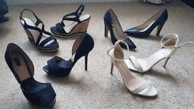 High Heels - Zara / New Look / Vince Camuto - Size 5