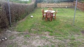 cane table and 4 chairs