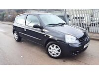 2008 CLIO 1.2 PETROL MANUAL , ONLY 60 K MILES , BARGAIN