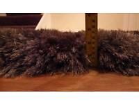 120cm x 170cm grey luxury pearl rug