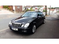 Stunning Mercedes E-Class V6 3.0 CDI diesel auto, full leather, full service, Mint condition