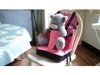 Childs booster seat. Ideal age from 9 months