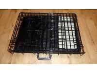 SMALL DOG PET FOLD AWAY CAGE