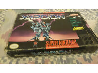snes usa game cart xardion