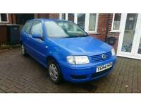 Vw polo 1.4 Auto. 56 k miles, 2 owners from new