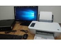 FULL HP ELITE 8300 COMPUTER SET WINDOWS 10 8GB RAM 500GB HDD INTEL CORE i5