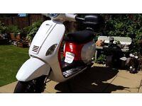 Lintex Classic 125cc Scooter