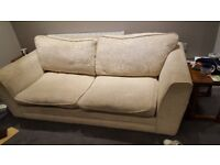 2 x big 2 seater sofas. good condition. cushion covers machine washable. need gone ASAP
