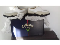Ladies Callaway Golf Shoes Colour White Size UK 5.5