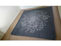 Original condition, unpacked but unused, Ikea SANDERUM Rug, high pile 200 x 200 cm