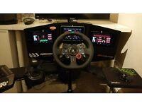 Alienware PC and Custom Racing Rig