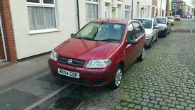 Fiat Punto 1.2 active damaged repairable