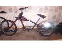 Stingray chopper bike