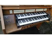 2 church organs
