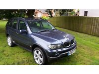 BMW X5 3.0D MANUAL 6 SPEED 2005 55, 82800 MILES
