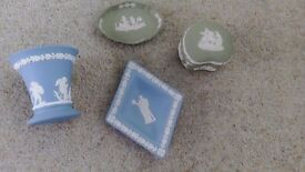 Wedgwood Jasper ware pottery/ornaments