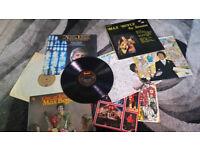 Small lot of vintage vinyl records lp