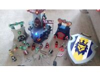 Playmobil castle and accessories. Castle, figures, carrybox and accessories.