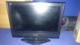 Panasonic LCD 26 inch TV - Black - Mint Condition - HD Ready - Freeview