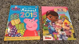 Peppa & Doc Mcstuffins Books