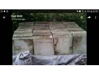 18 inch paving / concrete slabs suit patio or shed base etc