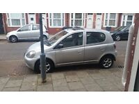 Hi im selling my toyota yaris 1.3 automatic 5 door cheap on insurnce and tax and on fuel only £600