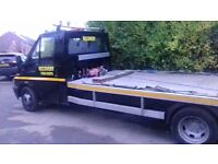 24 hr car recovery over 20 yrs exp cpc driver trained plus car collection