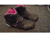 Women's alpinestars stella pink boots (size 38)