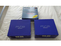 3x Boxed Playstation Consoles (1x PS1 2x PS2) ASAP Sale