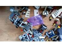 Assorted LEGO, star wars, Lord of the rings and mixed