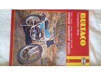 Bultaco Sherpa Pursang Trials Motocross Manual and Parts List