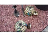 Tiffany lights and lampshades
