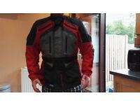 Full Force Advance Aqua 2 Jacket Black Red size XXL