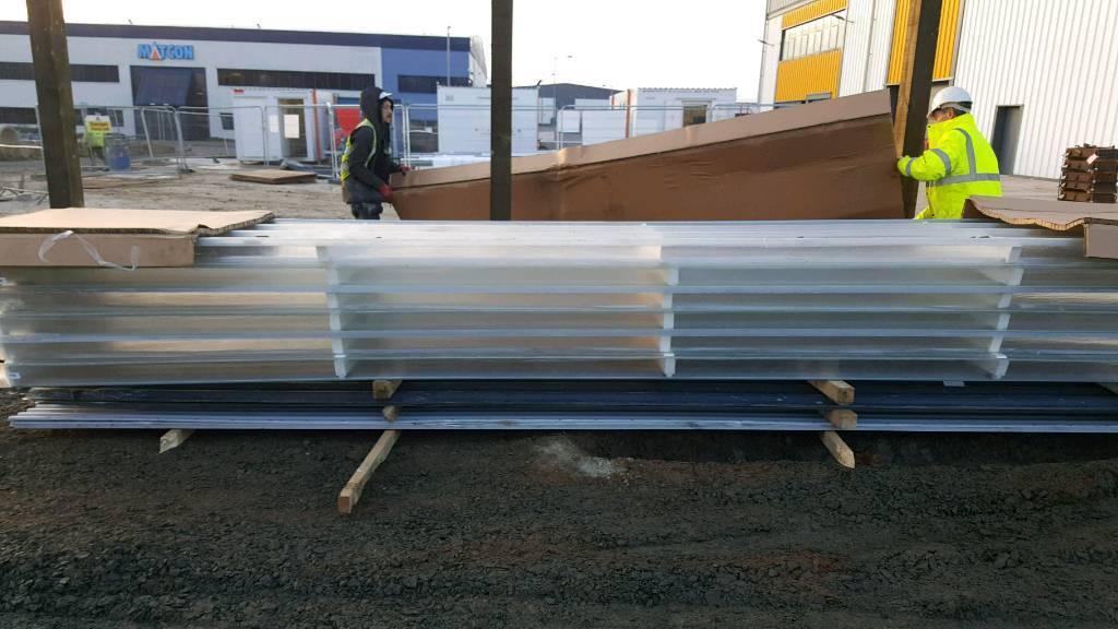 translucent roof panels | in Evesham, Worcestershire | Gumtree