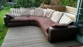 Large scs corner sofa