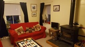 2 Bed Maisonette with Garden in Beauly