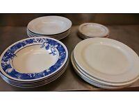 Ceramic plates - various sizes and designs