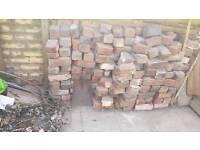 Free red bricks