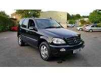 2002 Mercedes-Benz M Class ML270! 7 Seater! 86k Mileage! Full Service History!