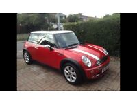 Excellent condition Mini Cooper 06 plate petrol Sun roof 1/2 leather seats