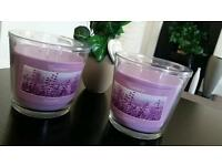2x XXL candles - Lavender