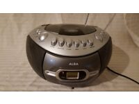Alba CD Boombox and Cassette Player