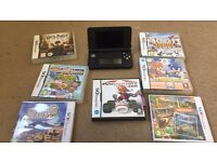 Nintendo 3DS EXCELLANT CONDITION with charger and 7 games