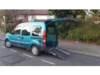2009/09 Renault Kangoo Authentique 1.2 Wheel Chair Ramp/Access Lowered Floor Full Service History