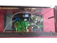 Fish tank aquarium for sale 120l