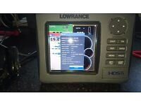 Lowrance HDS-5 GEN 1 - Colour FishFinder, ChartPlotter, transducer and Battery
