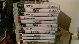 PS3 Football & Sports games, fifa, pes, etc