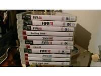 PS3 Football & Sports games, fifa, pes, etc